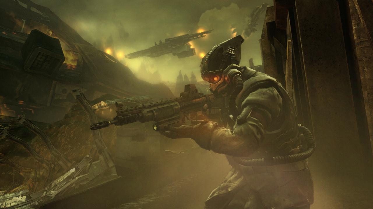 Killzone 2 Вооруженный солдат