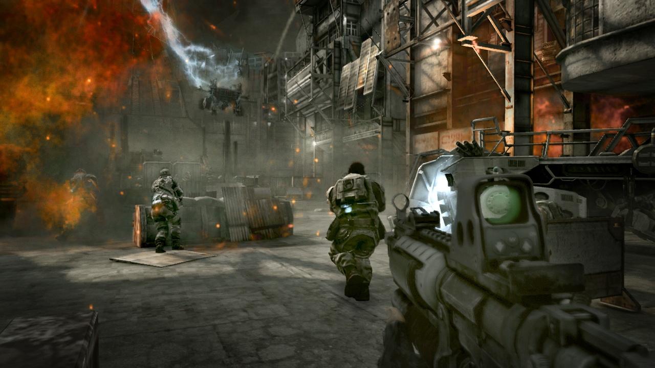Killzone 2 Бой