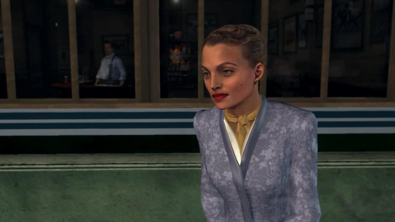 L.A. Noire Шеннон Пэри