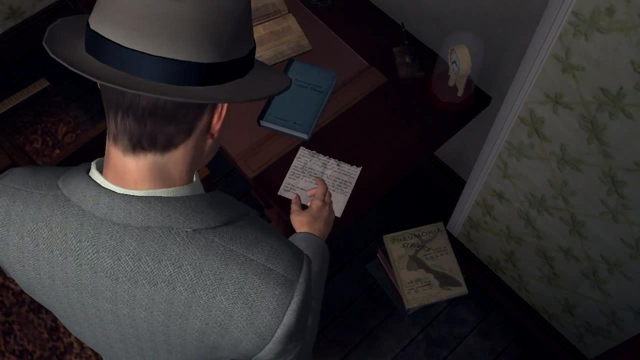 L.A. Noire Вторая часть письма