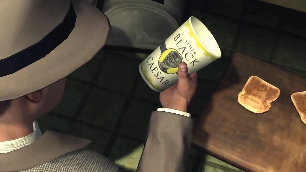 L.A. Noire Стакан с морфином