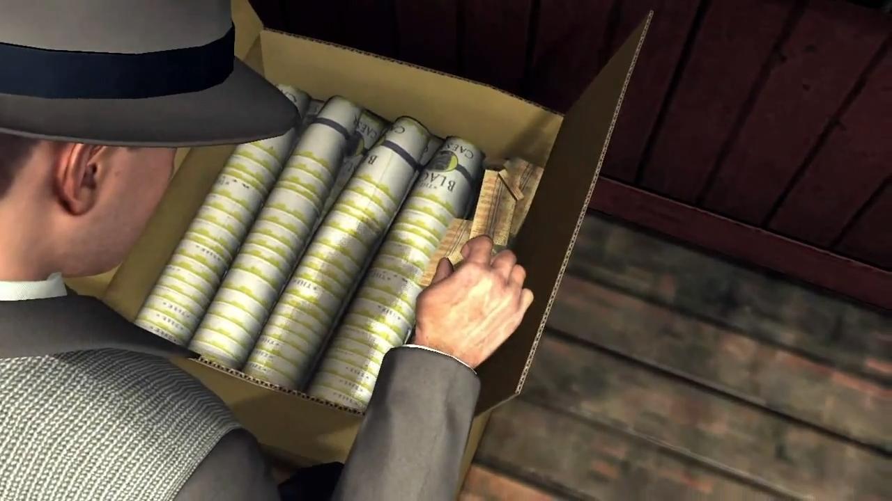 L.A. Noire Наркотики заказывали?