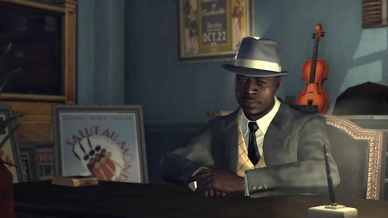 L.A. Noire Джеремен Джонс