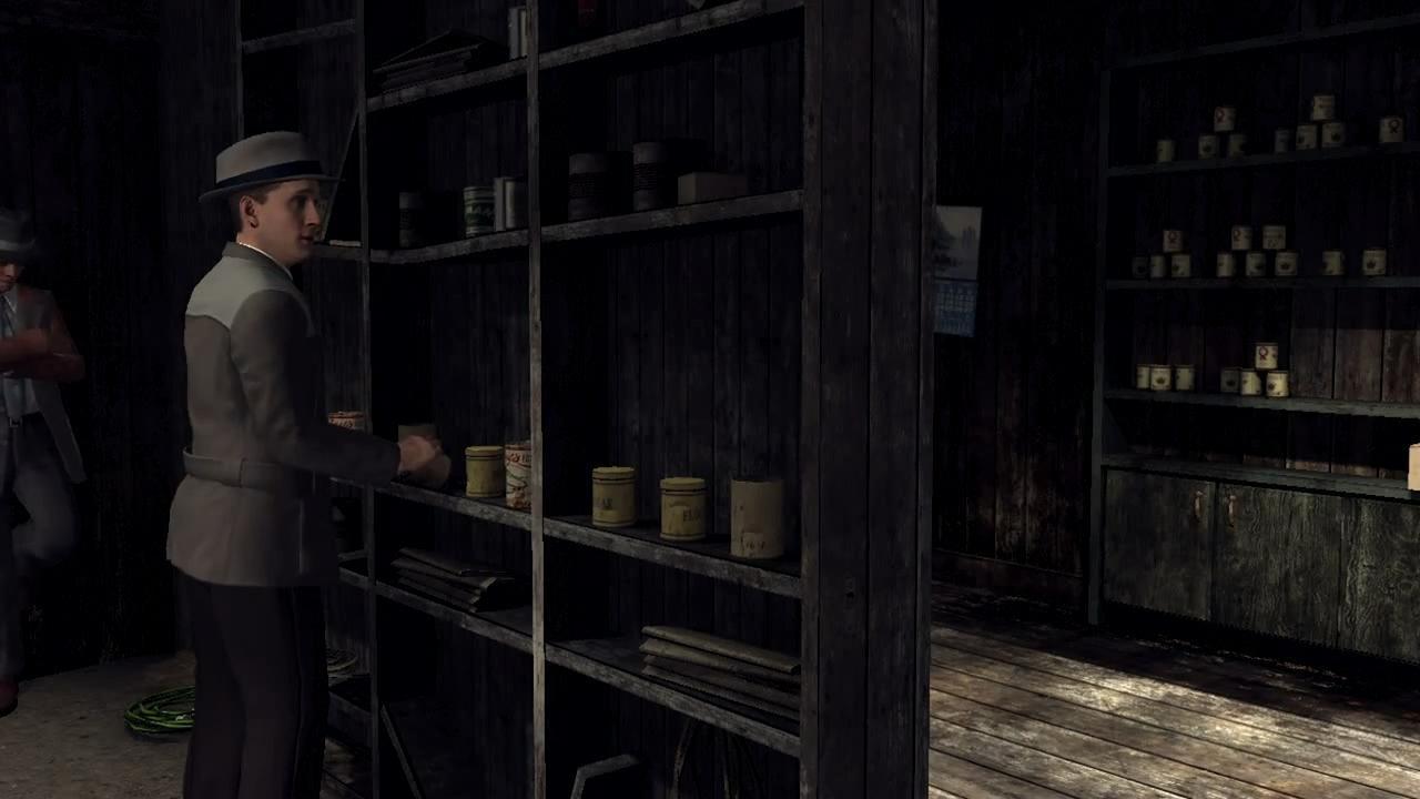 L.A. Noire Тайник