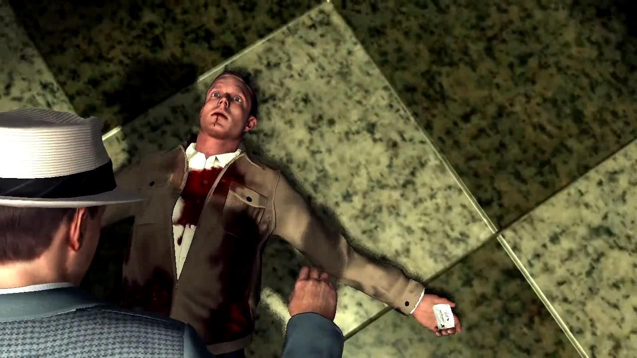 L.A. Noire Признание на смертном одре