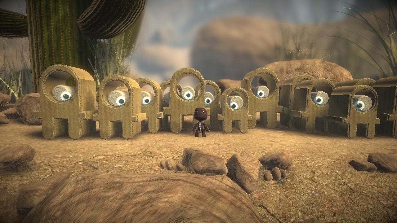 LittleBigPlanet Пустыня