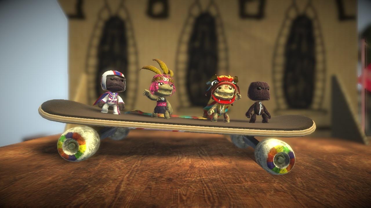 LittleBigPlanet Скейт