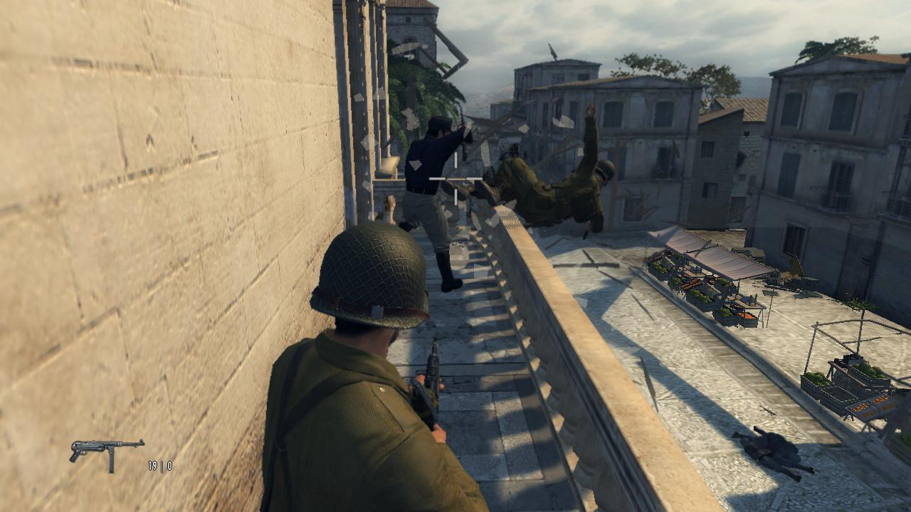 Mafia 2 Падение с балкона