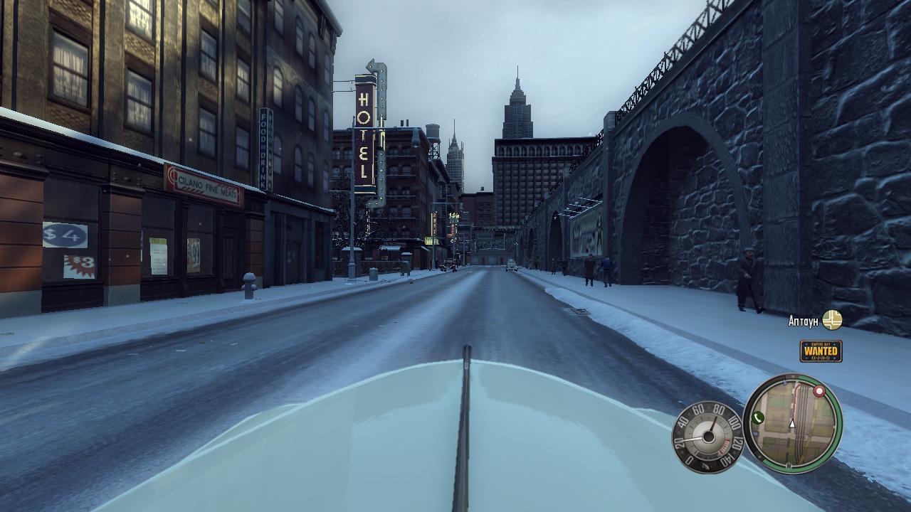 Mafia 2 Вид из вашей машины