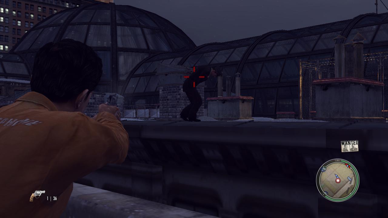 Mafia 2 Подстреленный коп