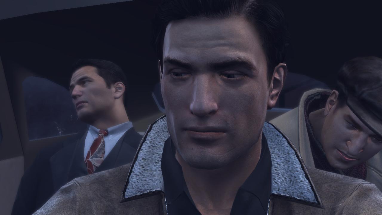 Mafia 2 Мужественное выражение лица