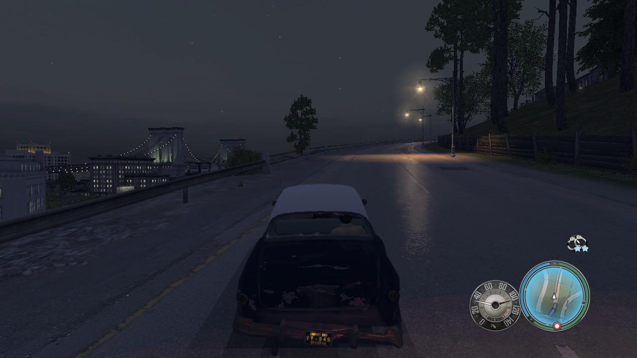 Mafia 2 Ночной мост очень красив