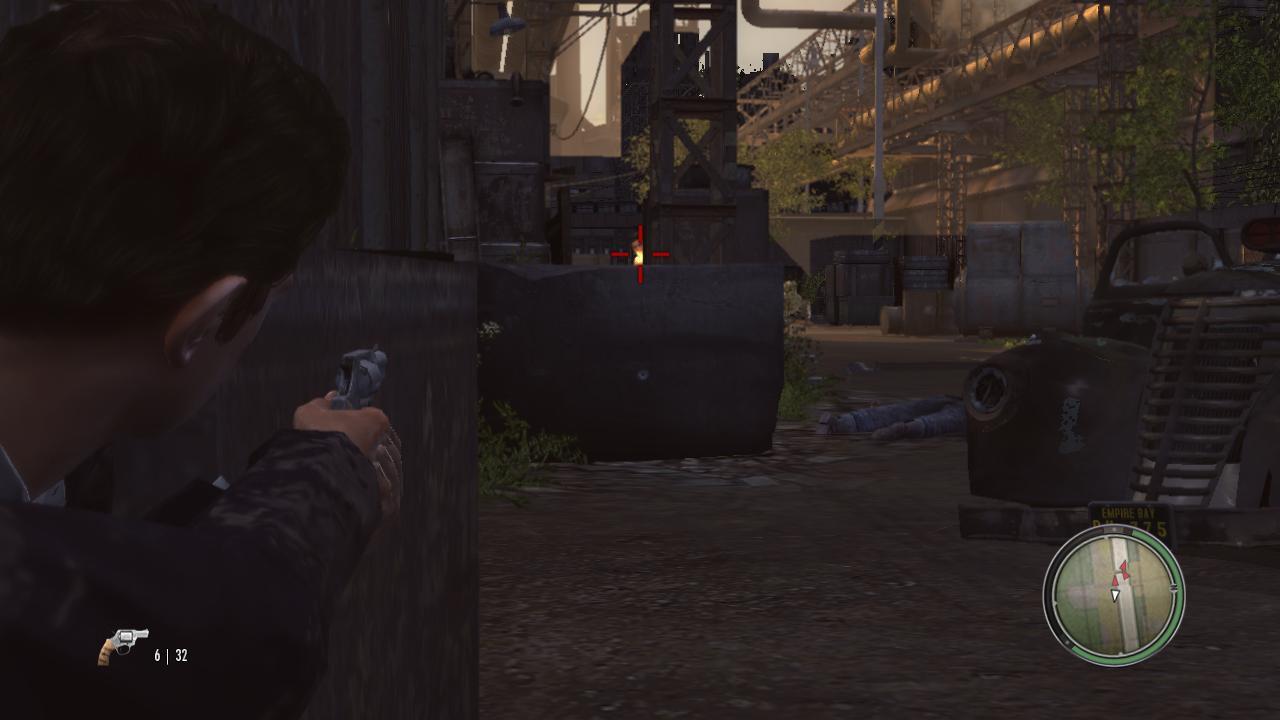 Mafia 2 Выстрелы из-за укрытия