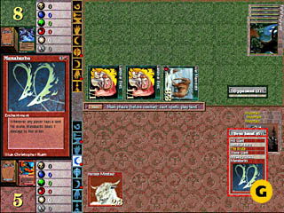 Magic: The Gathering - Duels of the Planeswalkers (1998) Игровой процесс