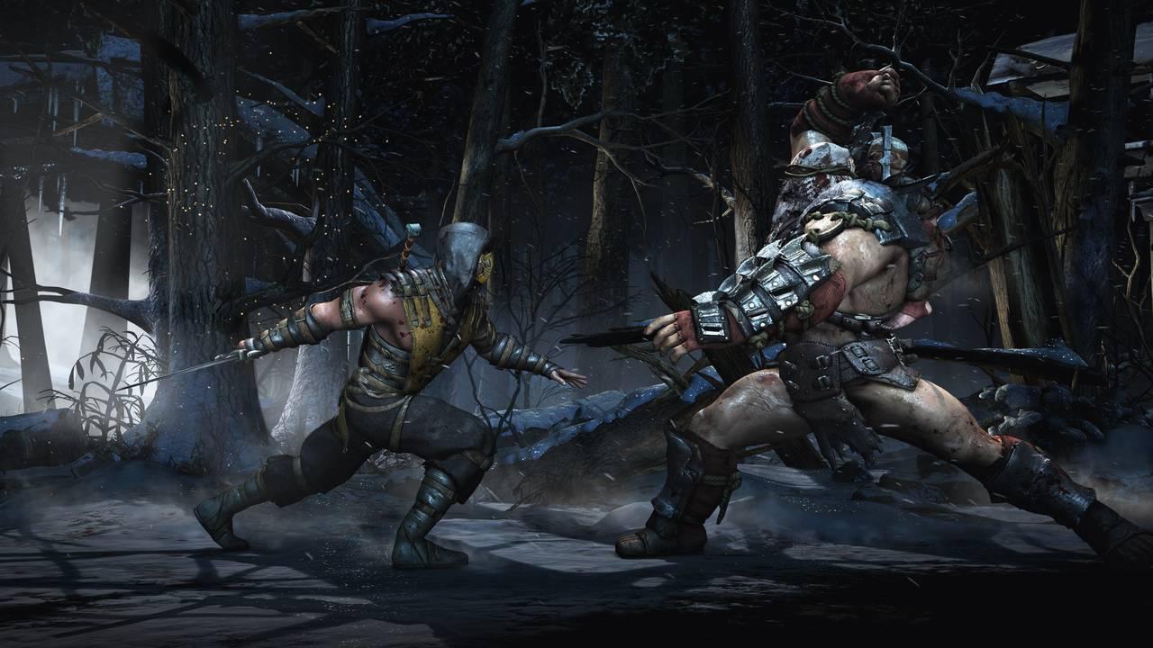 Mortal Kombat X Scorp Torr Snow Showdown
