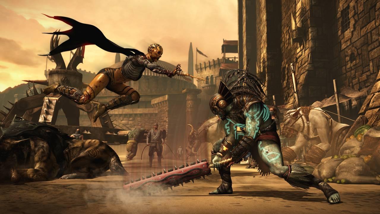 Mortal Kombat X Dvorah Kotal Market FlyingSting