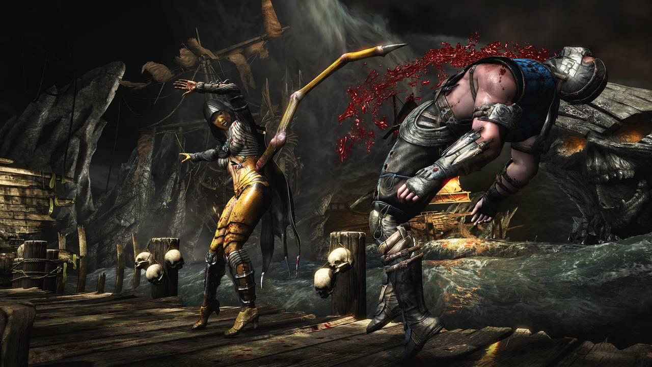 Mortal Kombat X Dvorah SubZero Cove Stab