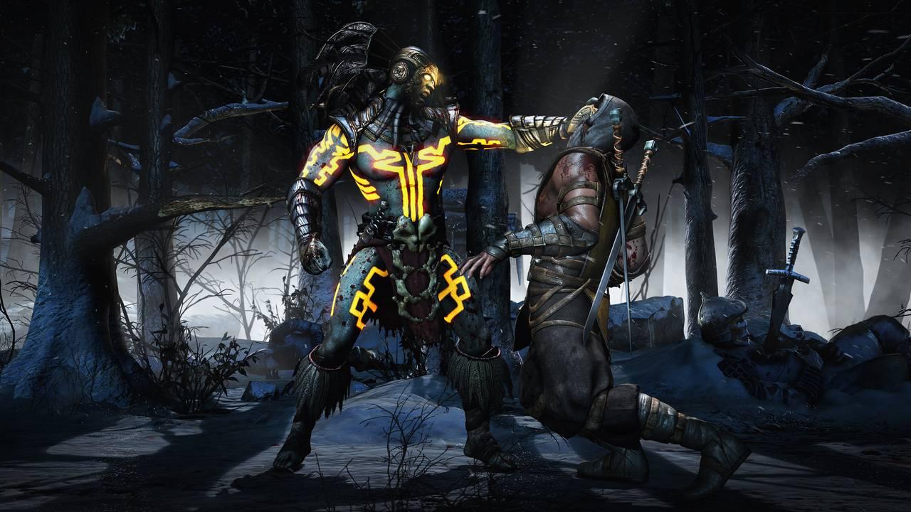 Mortal Kombat X Kotal Scorpion SnowForest Choke