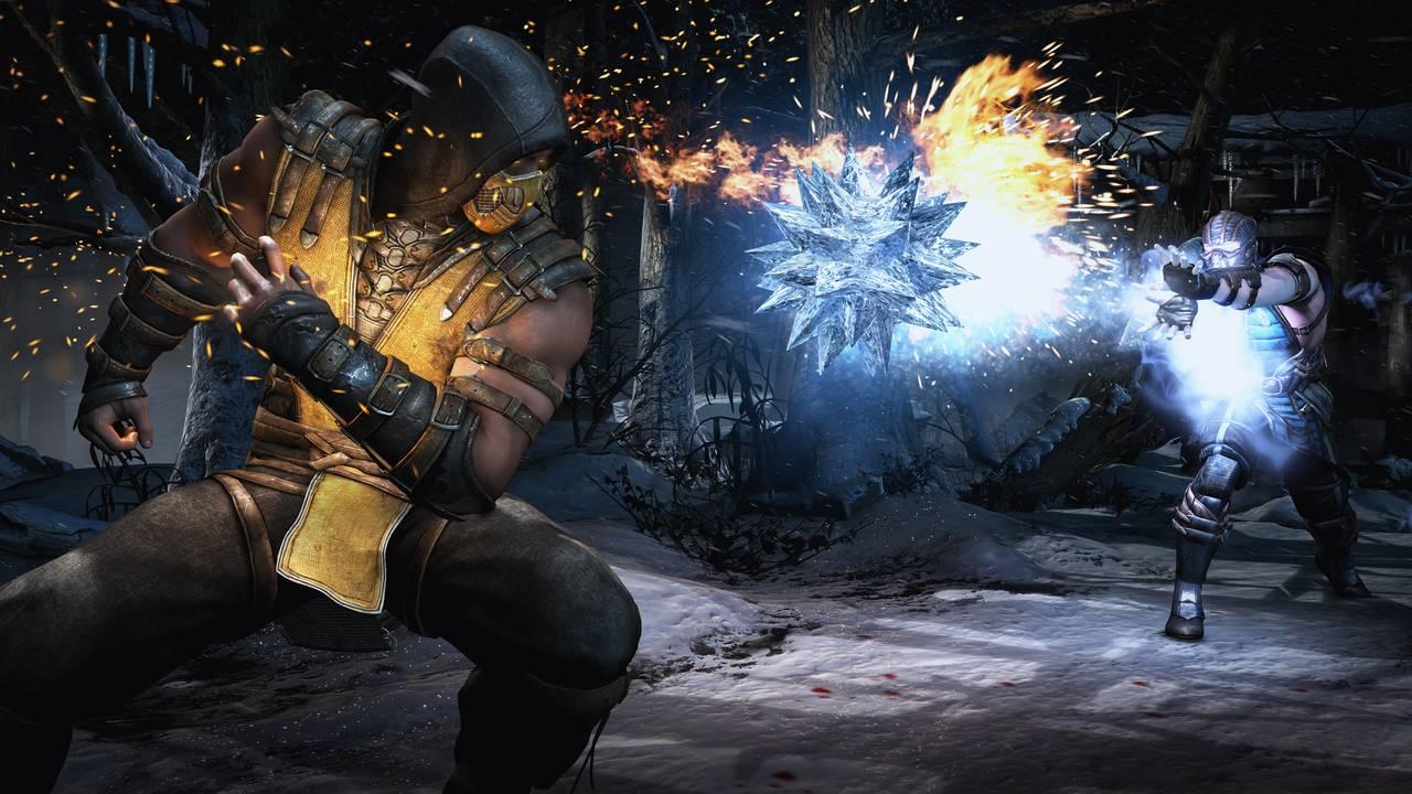 Mortal Kombat X Scorpion and SubZero