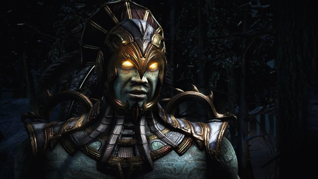 Mortal Kombat X Kotal Intro Snow