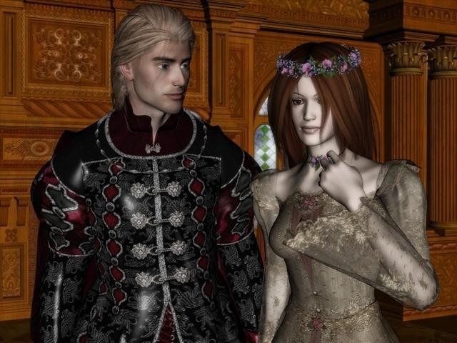 Most Romantic Tales: Romeo and Juliet Персонажи из игры