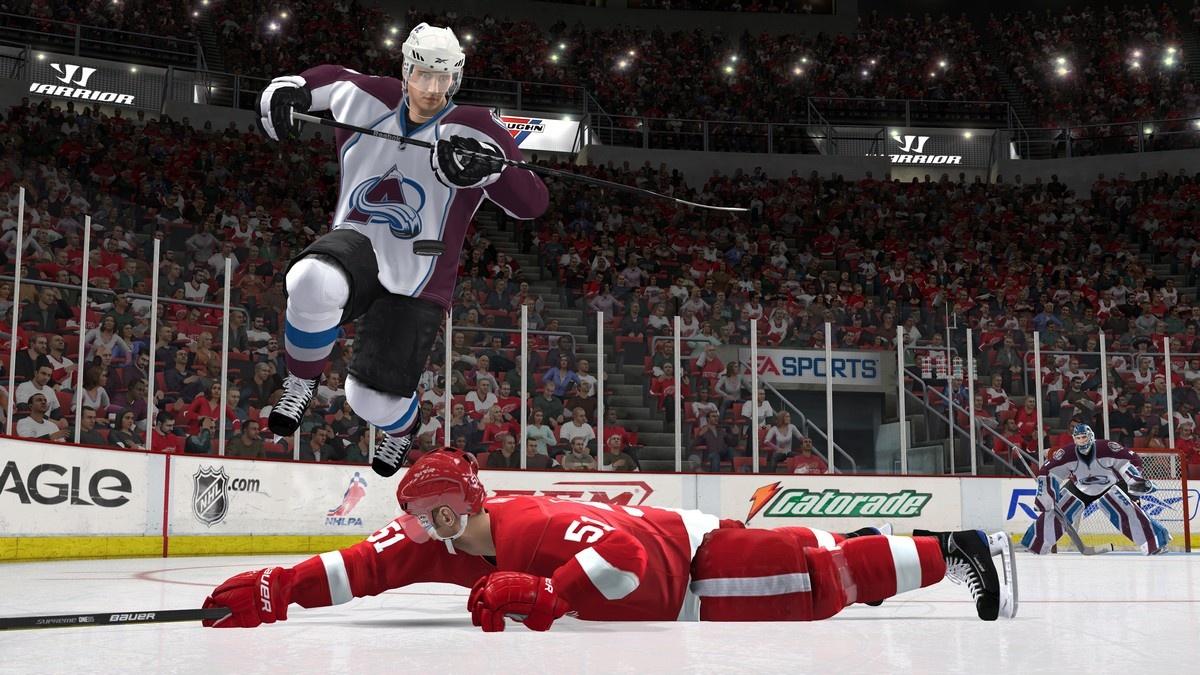 NHL 11 Геймплей