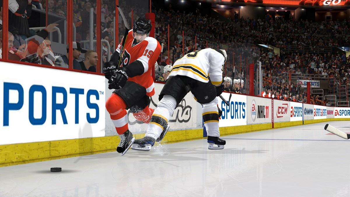 NHL 11 Борьба