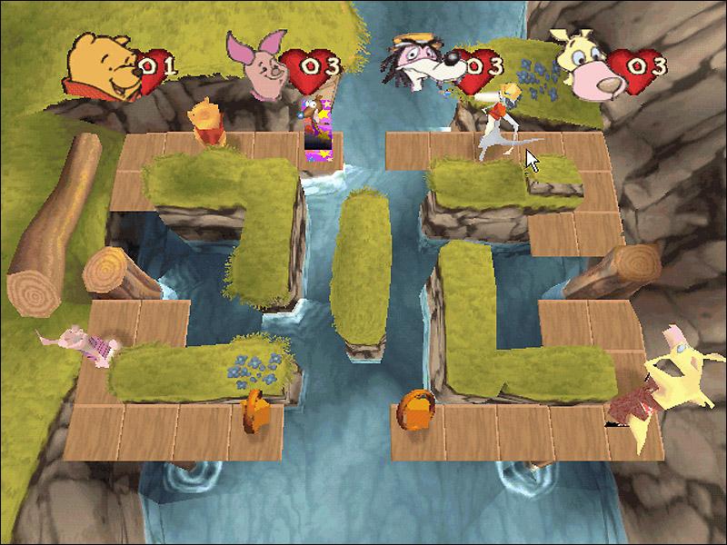 Винни. Игры с друзьями Геймплей