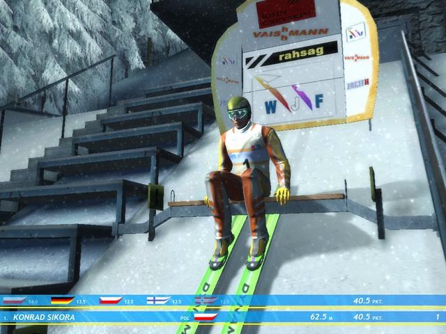 Ski Jumping Winter 2006 Перед спуском
