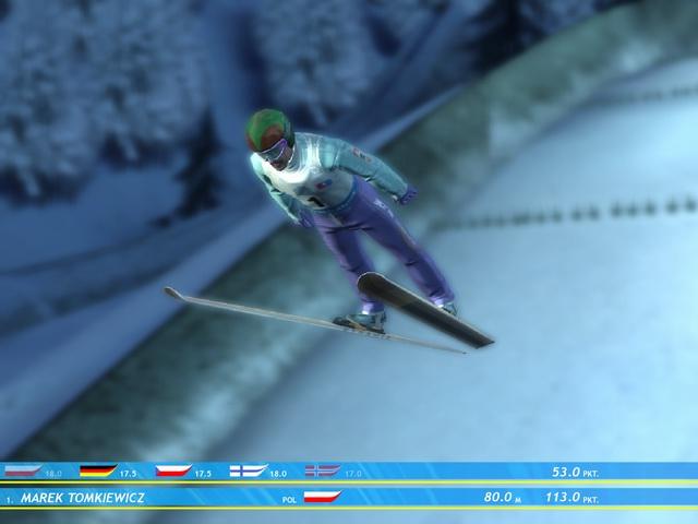 Ski Jumping Winter 2006 Прыжок