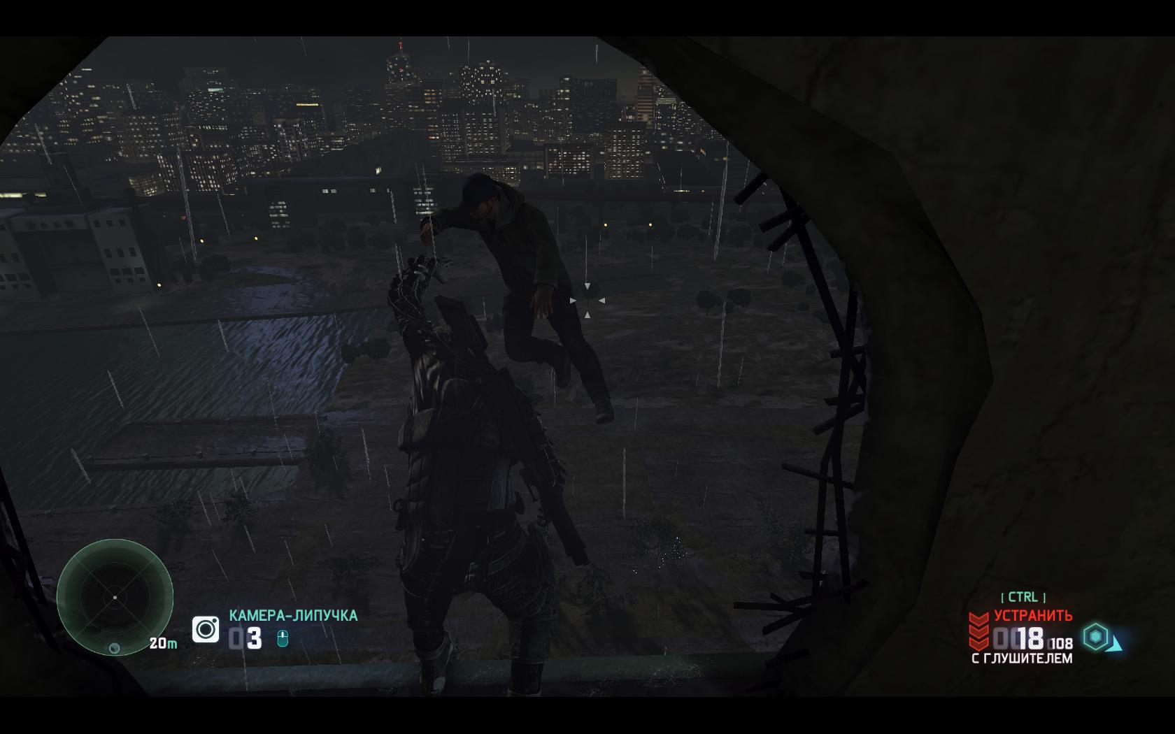 Splinter Cell: Blacklist Отправляем врага в полет