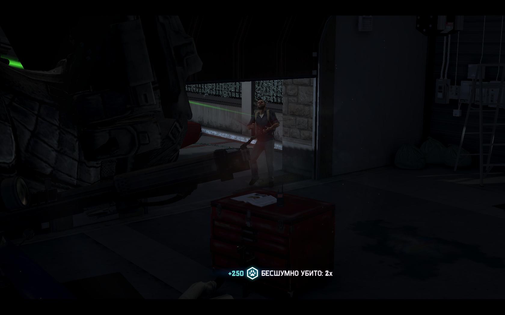 Splinter Cell: Blacklist Убитый враг