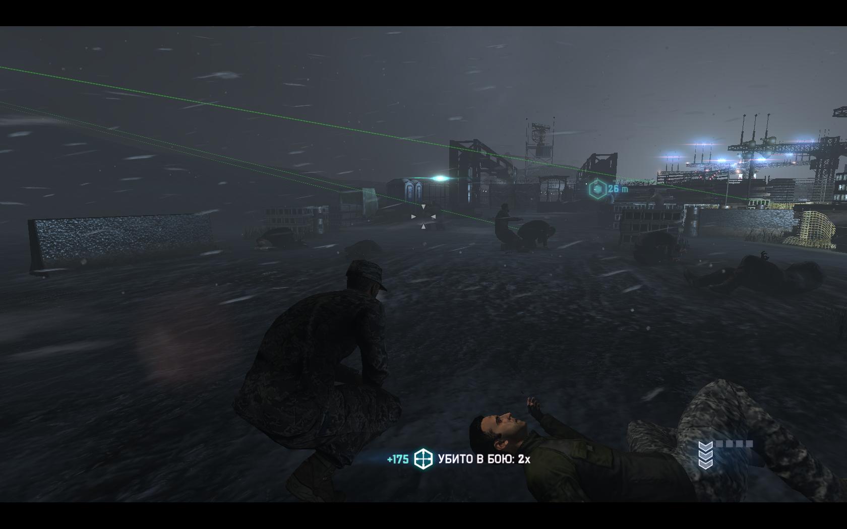 Splinter Cell: Blacklist Свои снайпера все почистили