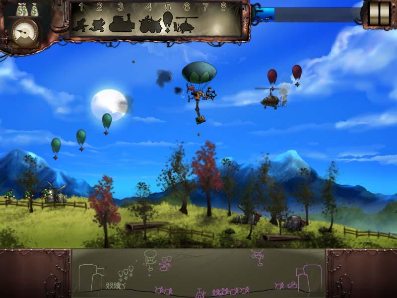 Steam Brigade Игровой мир