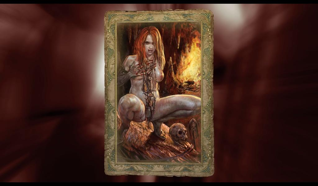 Ведьмак Карточка Абигайль