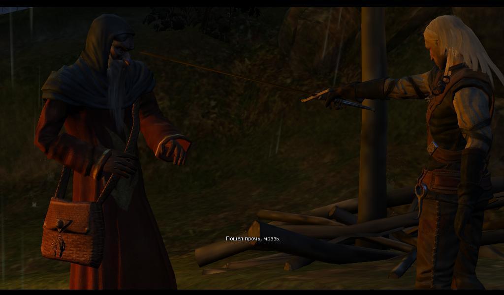 Ведьмак Священник - явно не прав