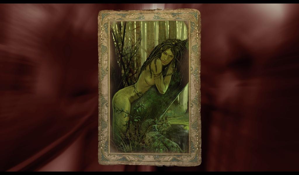 Ведьмак Карточка Наяды