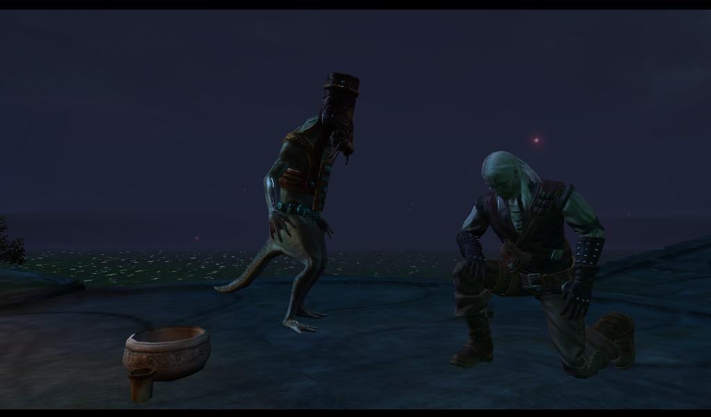 Ведьмак Склони колени перед Владычицей Озера