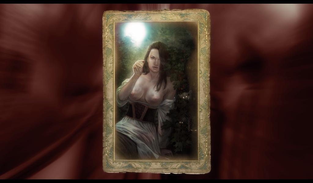 Ведьмак Карточка Селины