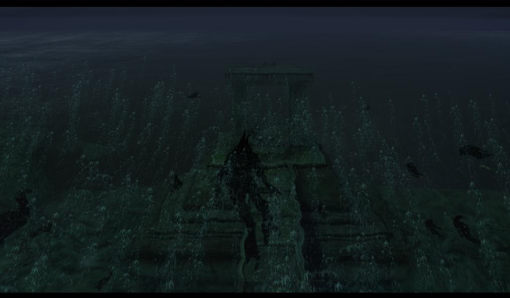 Ведьмак Дагот плывет