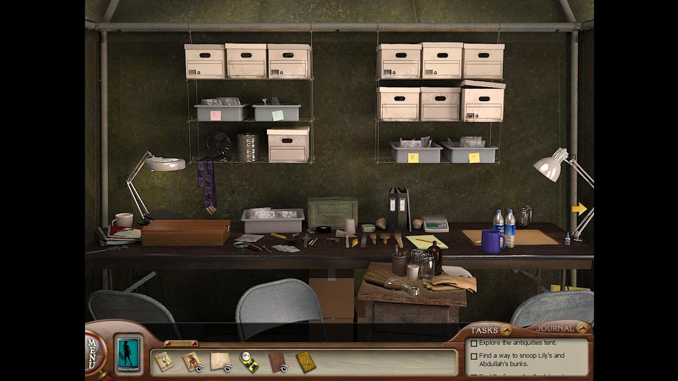 Нэнси Дрю: Усыпальница пропавшей королевы Первый стол