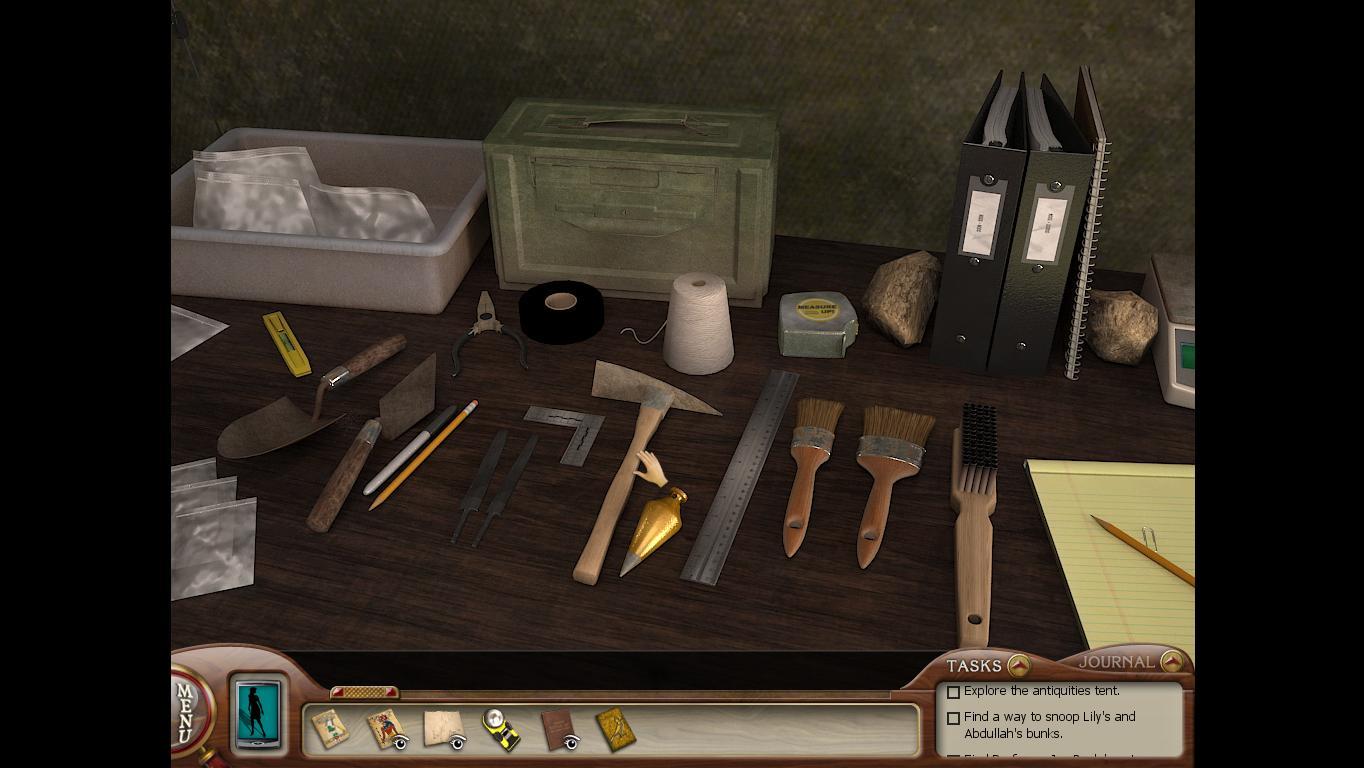 Нэнси Дрю: Усыпальница пропавшей королевы Набор инструментов