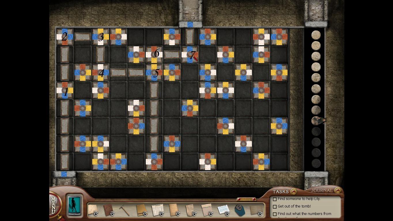 Нэнси Дрю: Усыпальница пропавшей королевы Схема решения головоломки