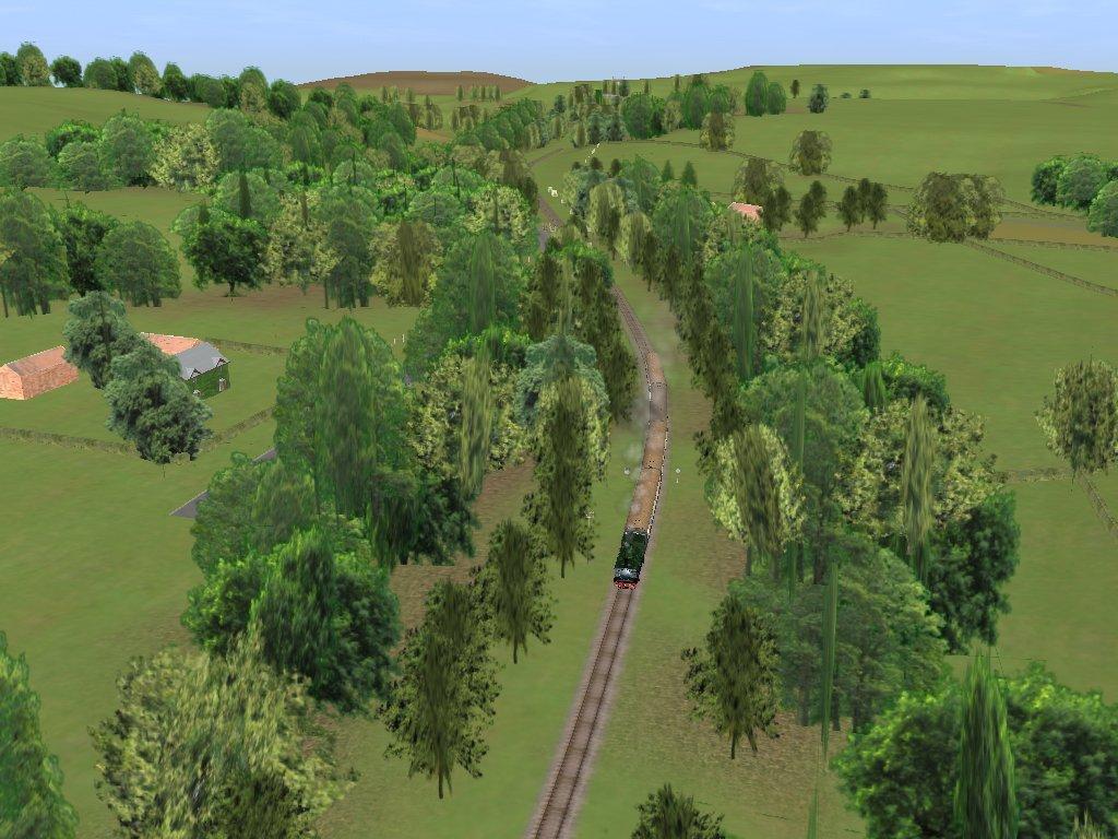 Train Driver Живописная местность