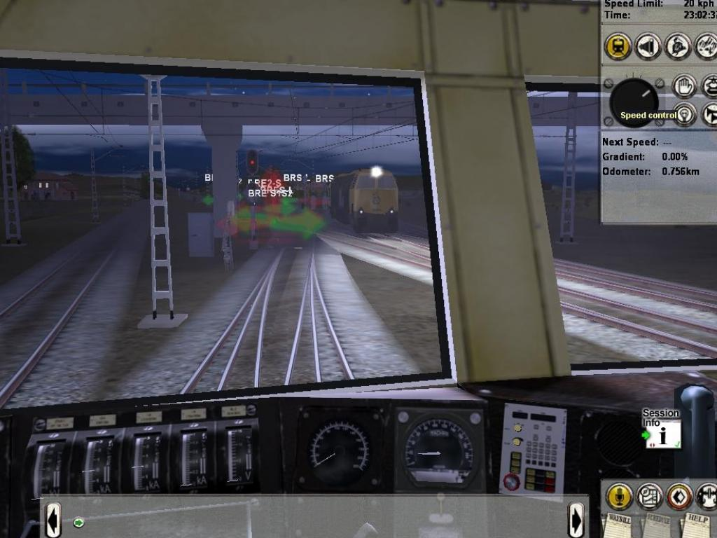 Trainz: The Complete Collection В кабине локомотива в Trainz: The Complete Collection