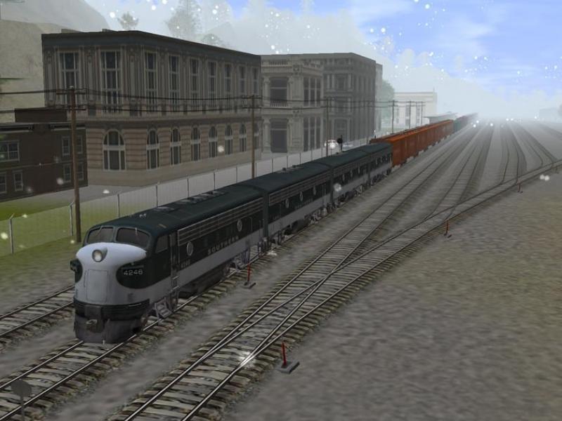 Trainz: The Complete Collection Поезд на станции