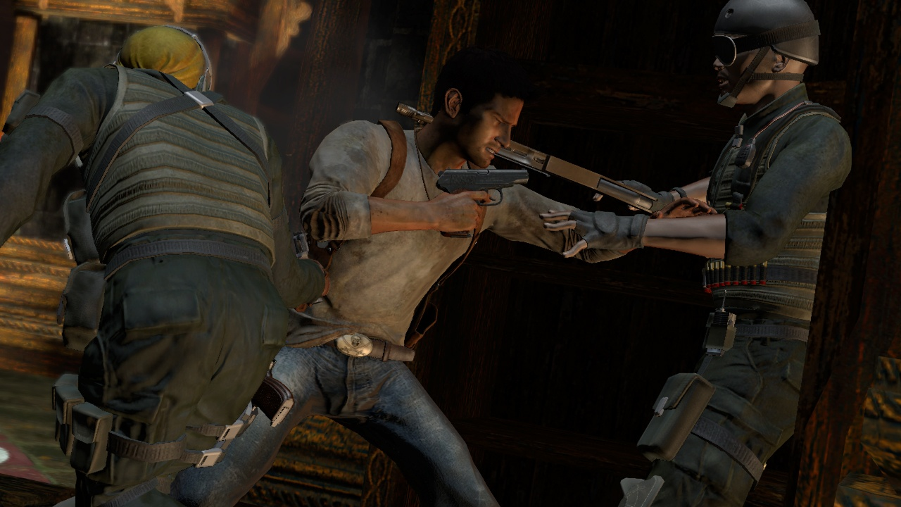 Uncharted: Drake's Fortune Ближний бой