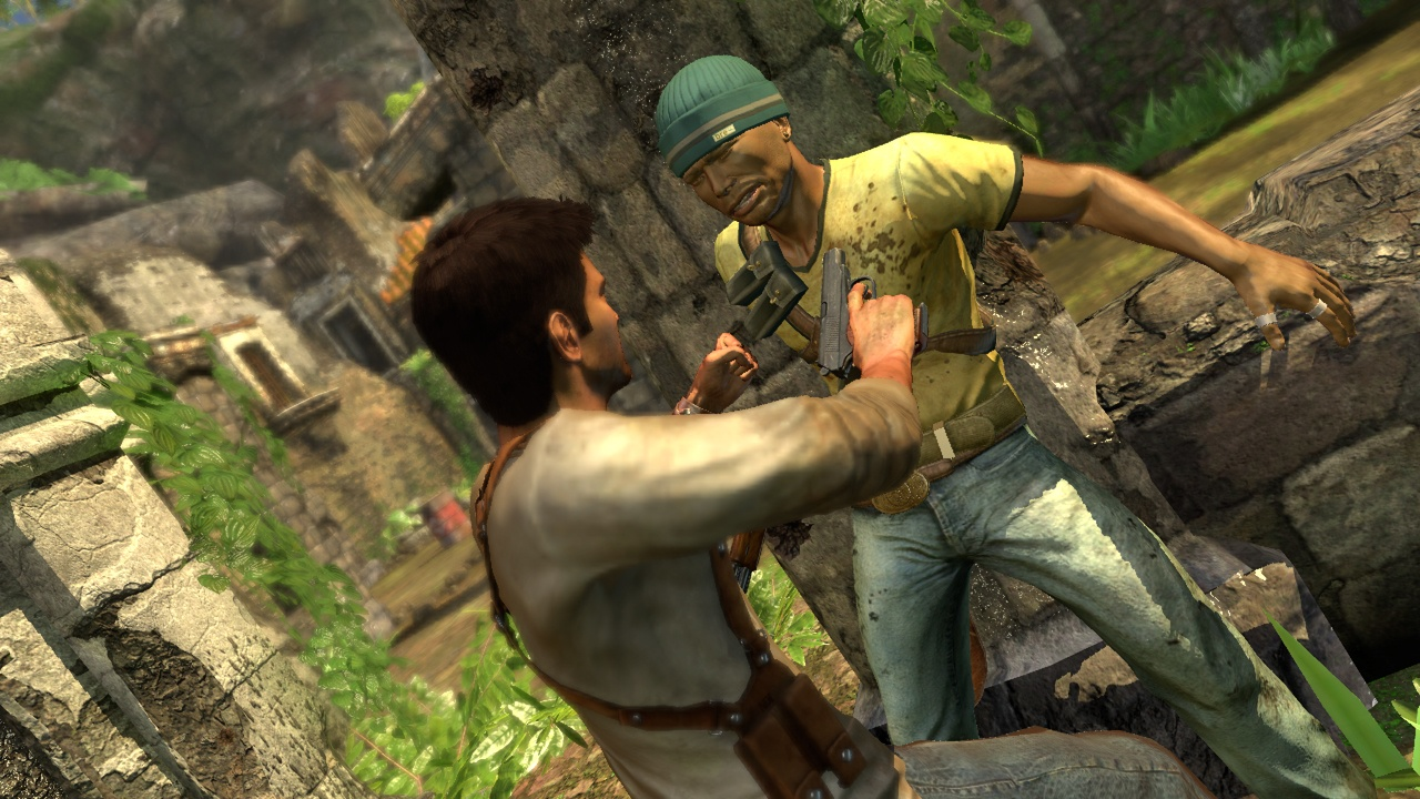 Uncharted: Drake's Fortune Врагу конец