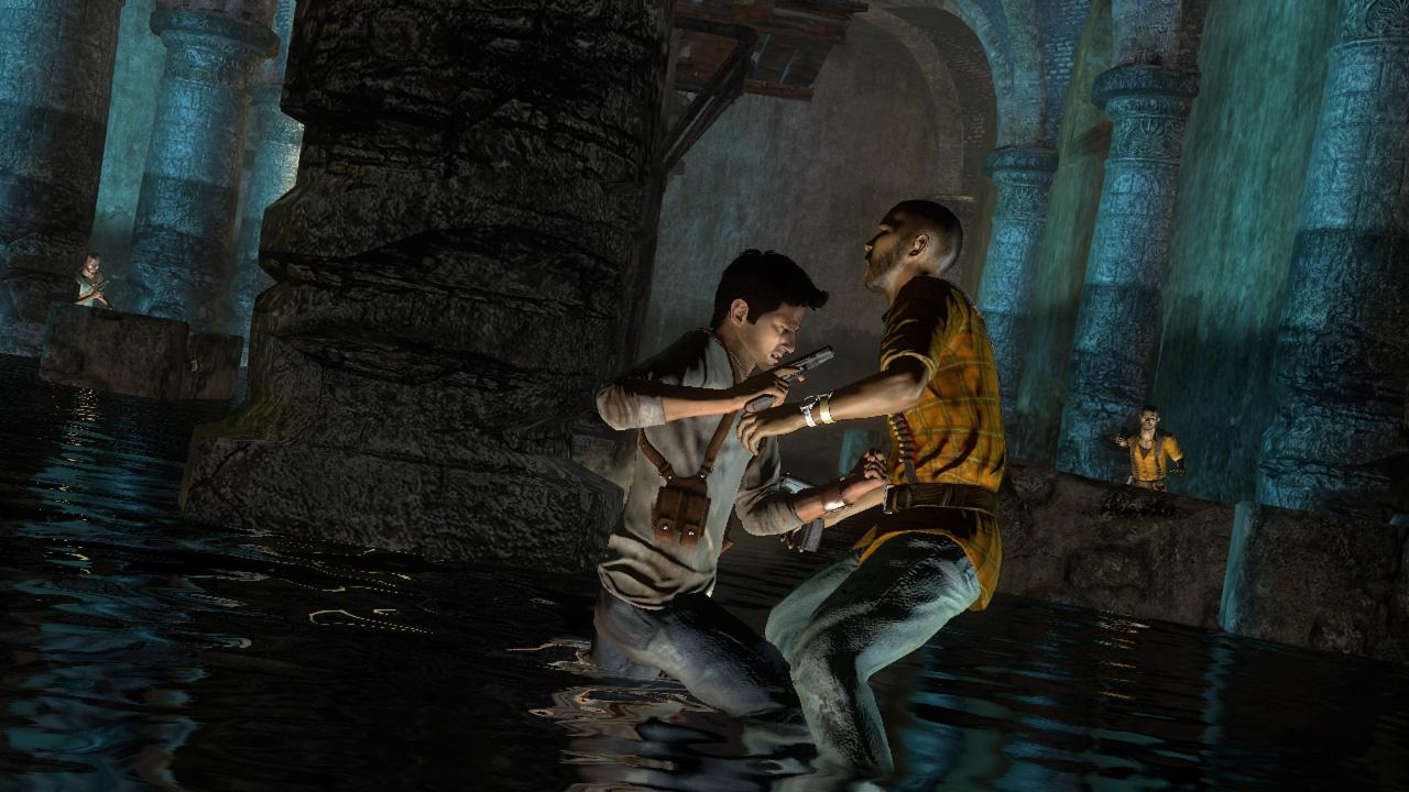 Uncharted: Drake's Fortune Ближний бой