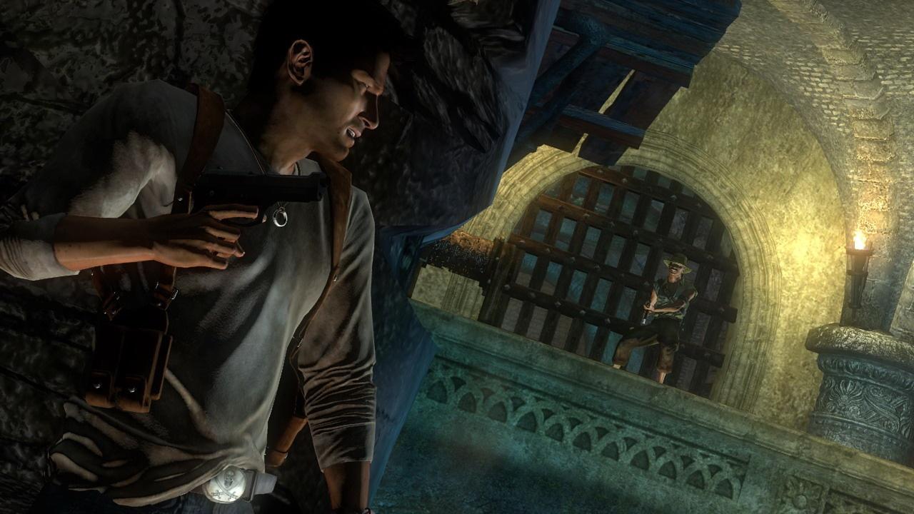Uncharted: Drake's Fortune В укрытии